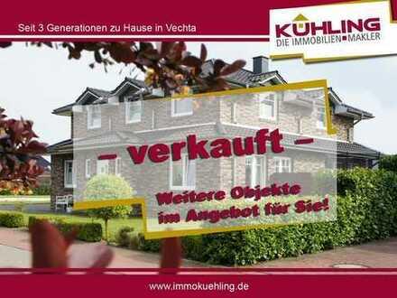 Ansprechendes junges Einfamilienhaus in familienfreundlicher Lage von Goldenstedt!