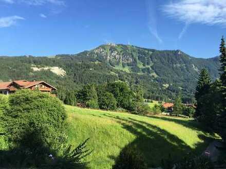 Ruhig gelegene Wohnung mit traumhaftem Bergblick