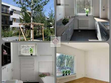Schön & Groß & Terrasse: Top 4-Zimmer-Wohnung: Wohnen in feinem Wohnpark Grünau