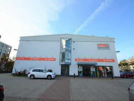 Hallen- und Bürofläche in Aschaffenburg zu vermieten: 1.077 m² Lager + 940 m² Büro/Sozial