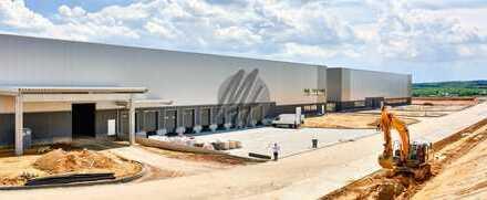 KEINE PROVISION ✓ NEUBAU ✓ AB ENDE 2019 ✓ Lager (4.000 m²) & Büro (500-1.000 m²) zu vermieten