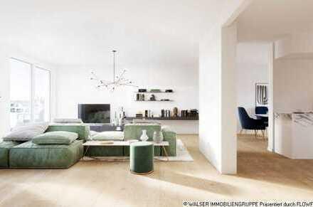 WALSER: Oben ankommen: Penthouse im begehrten Münchener Südwesten