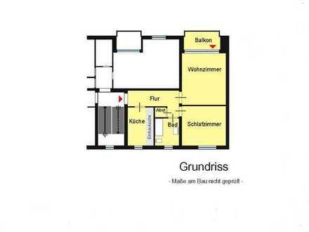 renovierte 2-Zimmer-Wohnung mit Balkon und Stellplatz in Zeven