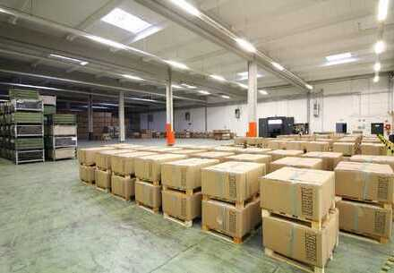 Ca. 3.150 qm Lager / Produktion | Rampe | 4 - 7 m UKB !