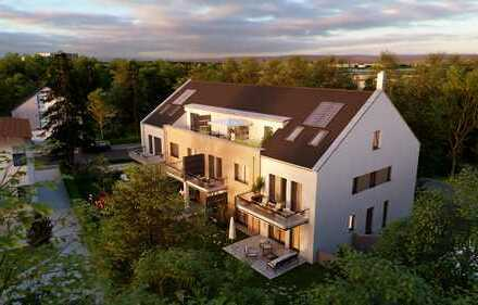 Dachterrassenwohnung für Individualisten mit Blick ins Kieferngrün Nähe Main-Donau-Kanal