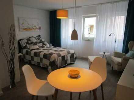 Ideal als Zwischenstation: Möbliertes Apartment, inkl. aller Nebenkosten, Kabel-TV und WLAN