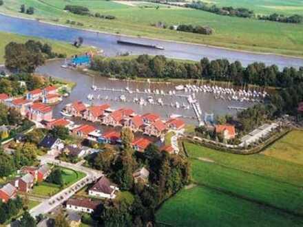 Exklusive DHH mit Bootsliegeplatz im Yachthafen von Weener