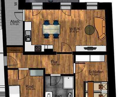 #316 Erstbezug nach Sanierung! 3-ZKB Wohnung - EXKLUSIV