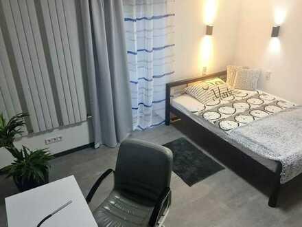 Mod. möbli. WG-Zimmer (5) mit TV, WLAN, Gem.-Küche/Du, KM 390 € + 110 € NK (pauschal 500 €)