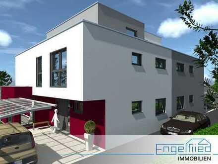 Neubau: Großzügiges Doppelhaus in Randlage von Flörsheim am Main, Bad Weilbach