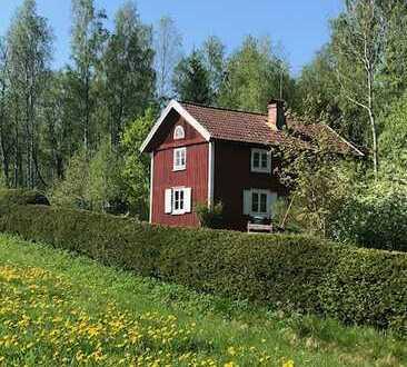 Småland-Torp in schöner Umgebung mit Blick über den Lillesjön