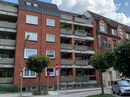 2-Zimmer-Wohnung mit Loggia und TG-Stellplatz - Kapitalanlage in begehrter Lage von HH-Bergedorf