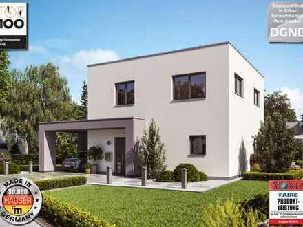 Exklusives Baugrundstück - Auch ohne Eigenkapital - Ihr Traumhaus vom Ausbauhaus-Marktführer!