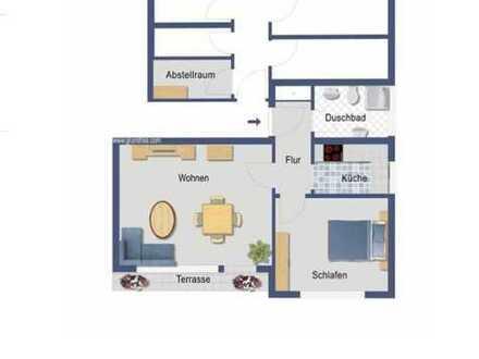 400 €, 48 m², 2 Zimmer