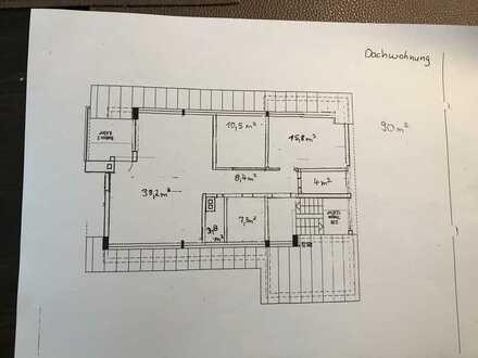 Schöne drei Zimmer Wohnung in Neckartenzlingen, Kreis Esslingen