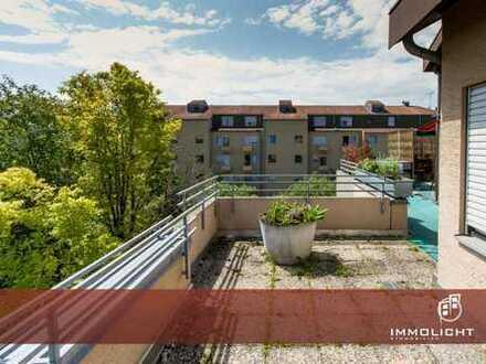Ab 1.9.2020 - Herrliche 3-Zimmer Dachterrassenwohnung im beliebten Neusäß.