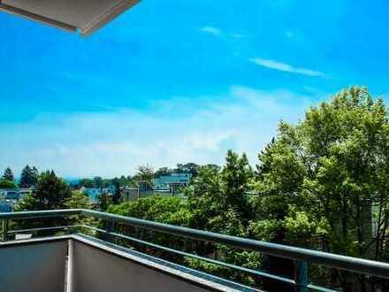 S-Rohrer Höhe: 3-Zi.-Whg., Aufzug, Balkon, Einbauküche, Tiefgarage, Keller, Aussicht, Waldnähe