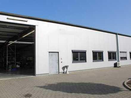 Waibstadt: Gewerbehalle mit Büros, 3-Schichtbetrieb möglich! (# 4254)