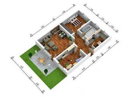 Frisch renovierte, großzügige und helle 3 Zimmerwohnung mit Garten (zzgl. 4. Zimmer im Keller!)