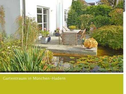 Ruheoase Mitten in der Stadt - Gartentraum in München-Hadern