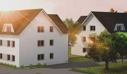 Erstbezug: tolle Familienwohnung mit Terrasse und kleinem Garten