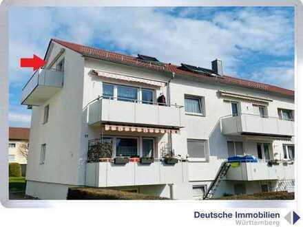 Gepflegte 3 Zimmer Wohnung (DG) in S- Stammheim