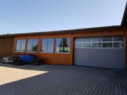 Zimmerei-Werkstatt / Holzbaubetrieb im westlichen Allgäu zu verpachten