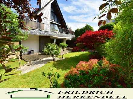Top Maisonettewohnung mit liebevoll gestaltetem Garten im Zweifamilienhaus