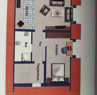 Moderne, toll geschnittene 2-Zimmer-Wohnung im Herzen von Bornheim