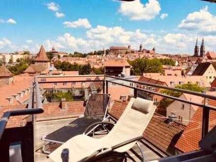 Traumhafte Maisonette / Loft Wohnung mitten in Nürnberg