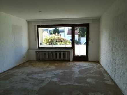 3-Zimmer EG-Wohnung mit Balkon und Gartennutzung
