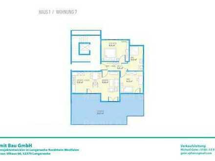 Drei Zimmer DG-Wohnung H1W7