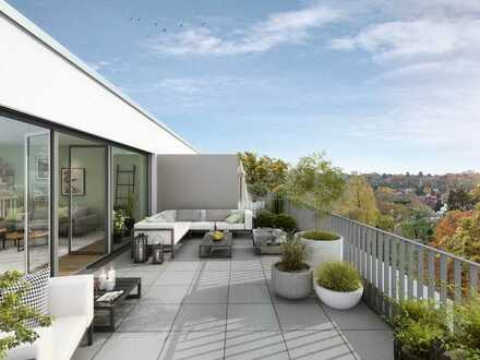 Luxus-Penthouse mit 2 Dachterrassen und separatem Appartementbereich mit eigenem Eingang