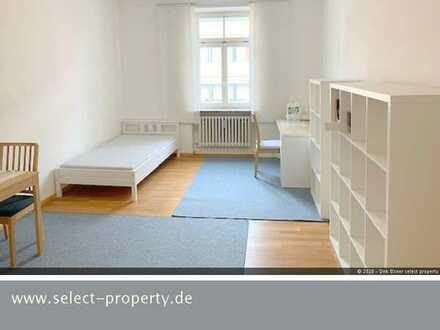 Helles neu möbliertes Zimmer in Altbau Nähe Ostfriedhof für 12 Mon. und länger - Einbauküche