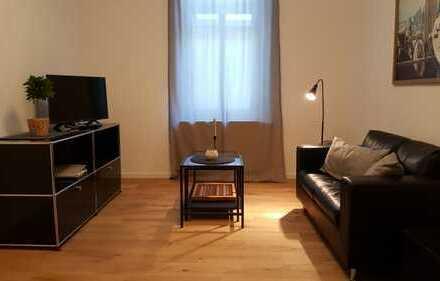 Möblierte 2-Zimmer Wohnung in ruhiger Lage des Rheingauviertels
