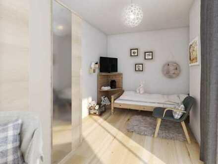 4 Zimmer-Wohnung mit zwei Bädern, 3 Schlafzimmer und großem Gartenanteil