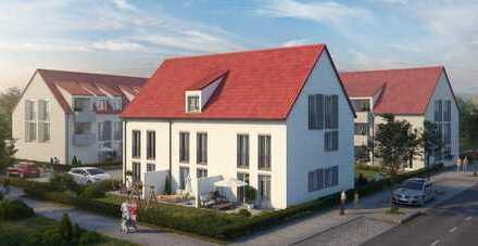 Reihenhäuser im Herzen der Stadt Leipheim zu verkaufen - hier Reihenmittelhaus