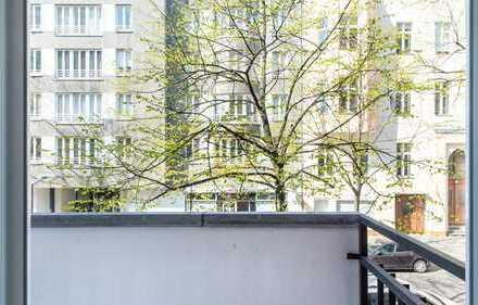 HOMESK - Helle 1-Zimmerwohnung am Nollendorfplatz mit Westbalkon - Erstbezug nach Modernisierung