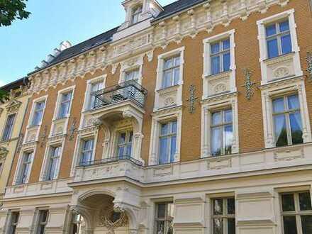 Elegant, ruhig, zentral: Gründerzeit in der Weinbergstraße