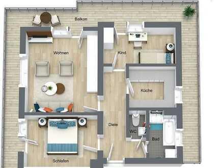 ***Modernisierte Penthouse-Wohnung in Bad Herrenalb***