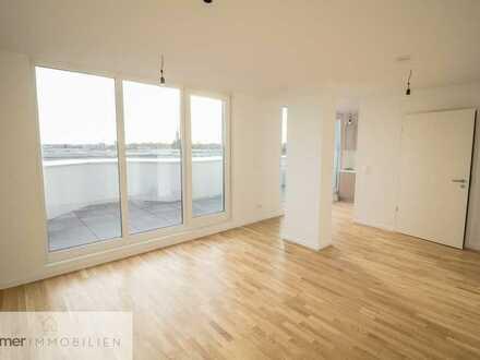 *Moderne 2-Zimmer Wohnung im Dachgeschoss mit Süd-Terrasse*