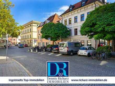 Attraktive 3-Zimmer-Wohnung in der Altstadt mit 2 TG-Plätzen zu vermieten - optional auch möbliert!