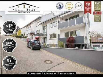 Neu sanierte 3-Zimmer EG Mietwohnung mit Terrasse und Balkon in Hohenwettersbach.