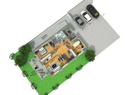 ***NEUBAU KfW 55: Viel Raum zum Leben 3,5 Zimmer EG-Wohnung mit Gartenanteil***