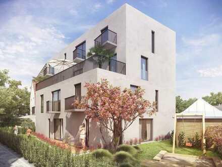 4-Zimmer-Wohnung in München-Nymphenburg. Rohbau fertiggestellt!