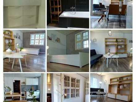 Zauberhafte 1ZKB Wohnung m. Garten & Stellplatz in Stadtbergen
