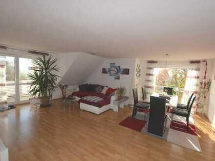 Top gepflegte 3,5-Zimmer-Eigentumswohnung in toller Aussichtslage in Bad Buchau