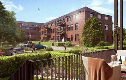 Loft Apartment - Helle, große Wohnung mit Blick ins Grüne, Gäste-WC, Lift & Stellplatz