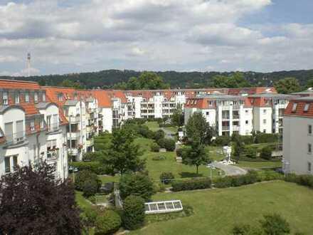 Schicke 2-Zimmerwohnung mit Balkon und Ausblick in Laubegast zu vermieten!