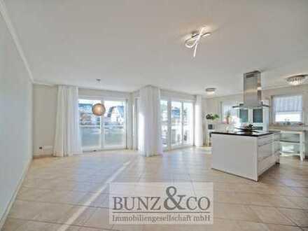 Reserviert: Mit großem Süd-Balkon: Helle 3-Zimmer-Wohnung